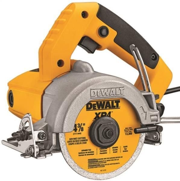 Dewalt Dwc860w Tile Saws 1 Hp 4 3 8 Inch Dewalt Tools Dewalt Tile Saws