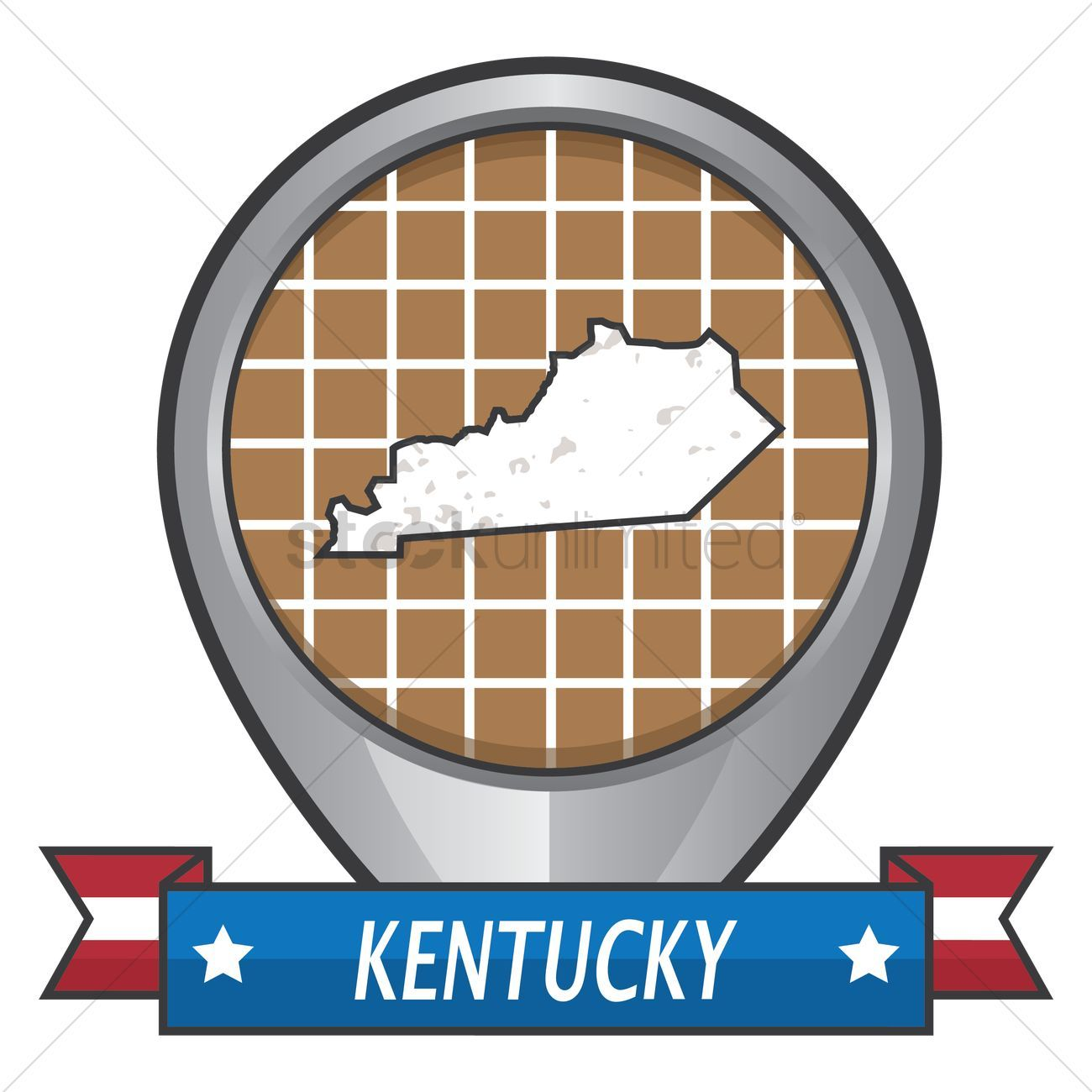 You Don't Have To Be A Designer To Get Awesome Visuals Kentucky state map stock vector ,
