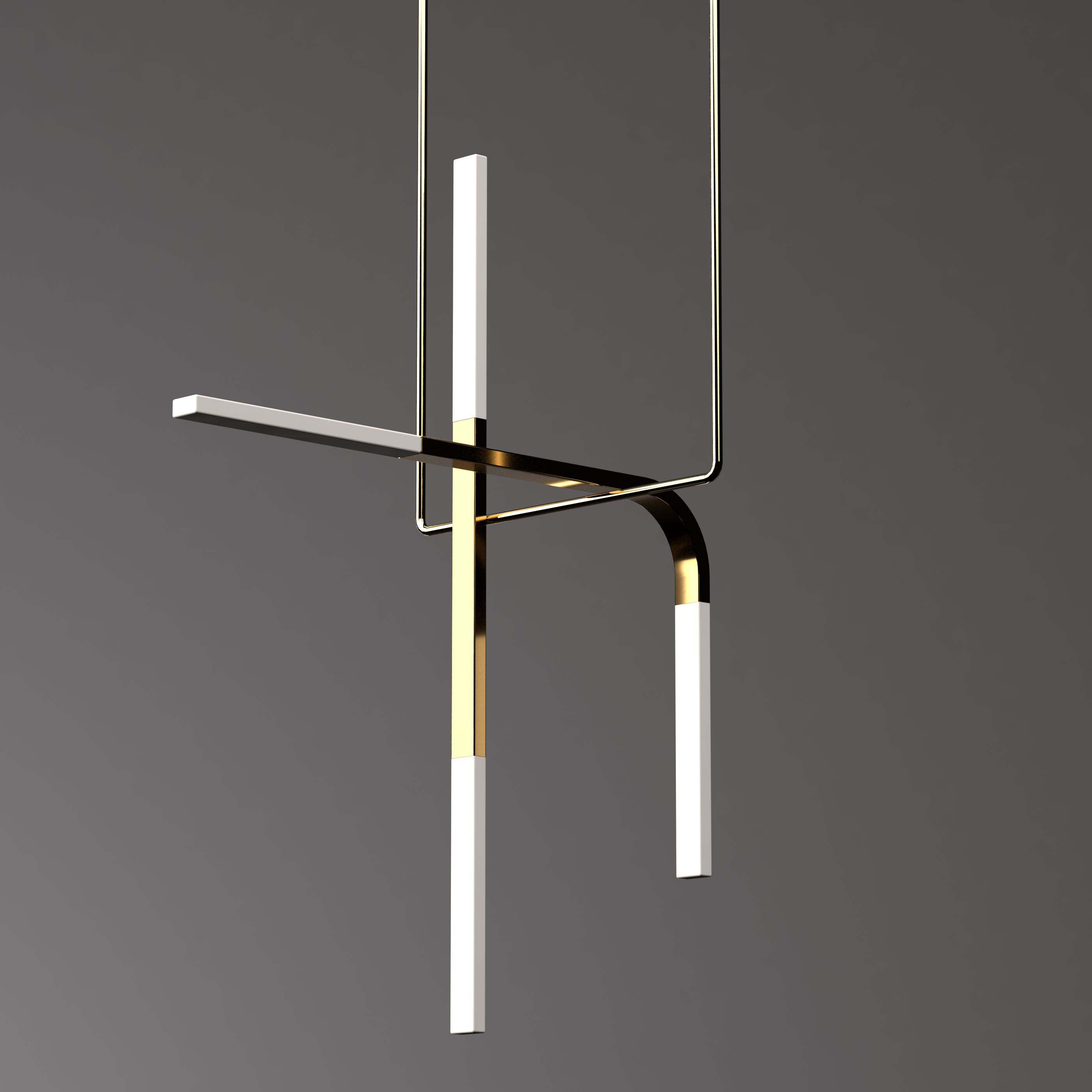 The Acrobat pendant luminaire series is a modular feature light