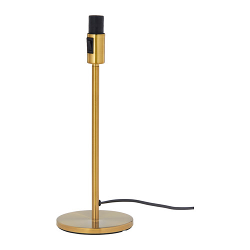 Rodd table lamp base brass color brass color 14 ikea
