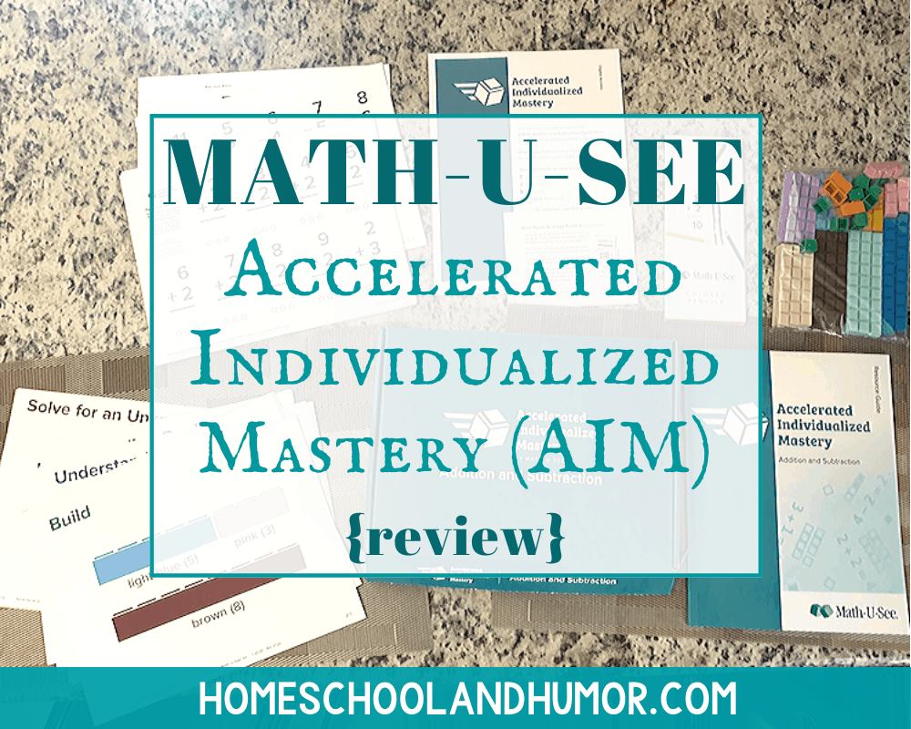 Mastering Addition And Subtraction With Math U See Review Homeschool And Humor Math U See Struggling Math Students Math Facts