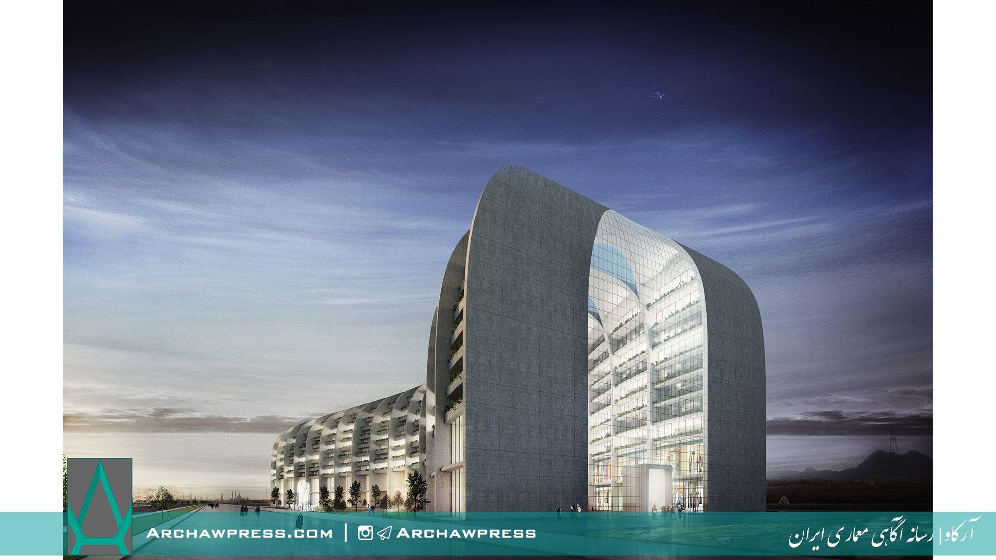 آرکاو   رسانه آگاهی معماری ایران منتشر کرد هتل قم