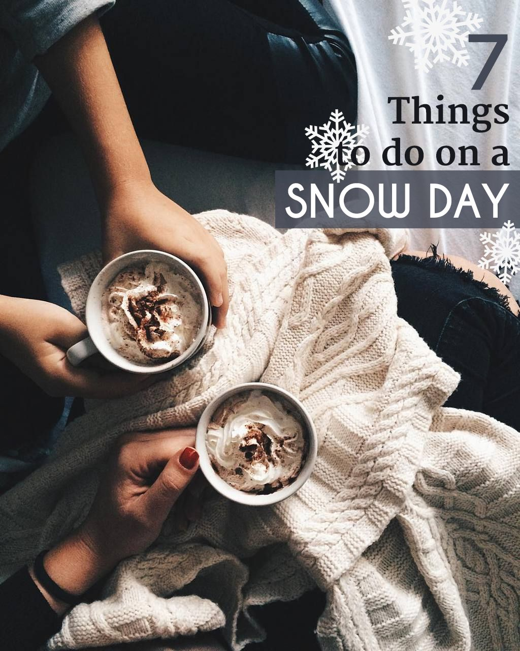 7 Things To Do On A Snow Day | Merry christmas baby, Christmas fun, Winter fun