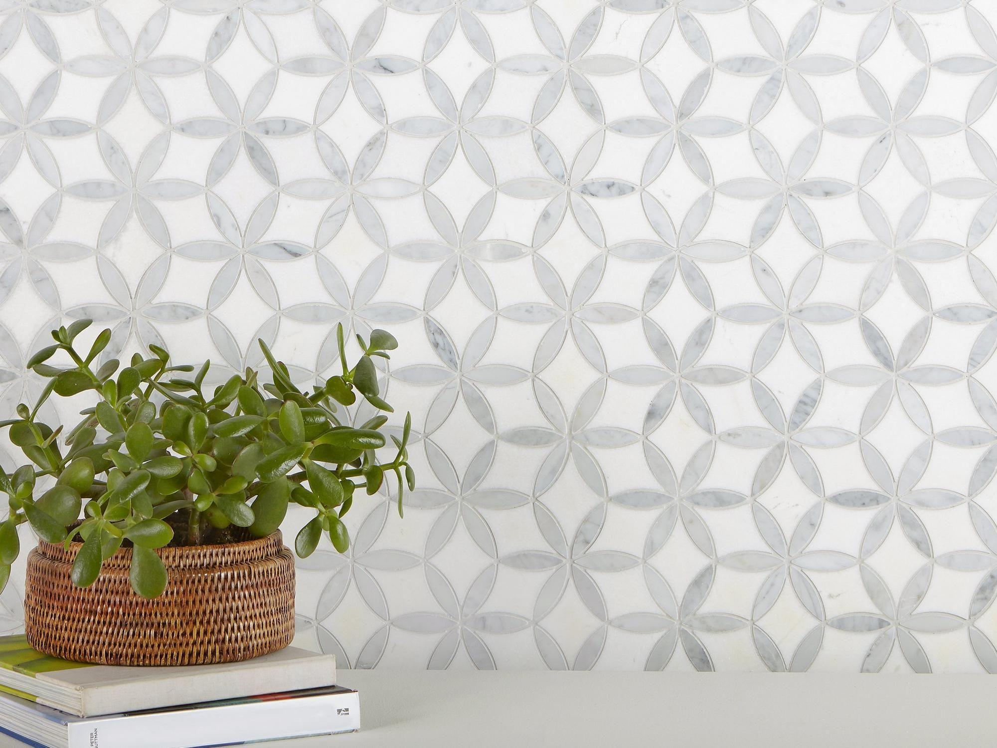 marble mosaic mosaic backsplash mosaic
