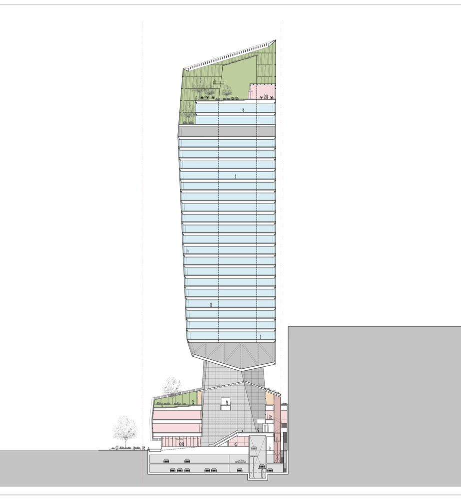Gallery Of Kpf S Robinson Tower Opens In Singapore 15 Tower Supertall Architect