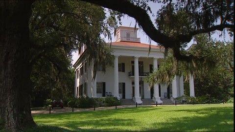 Devereux Plantation, Style Colonial, Maison de Campagne, Louisiane ...