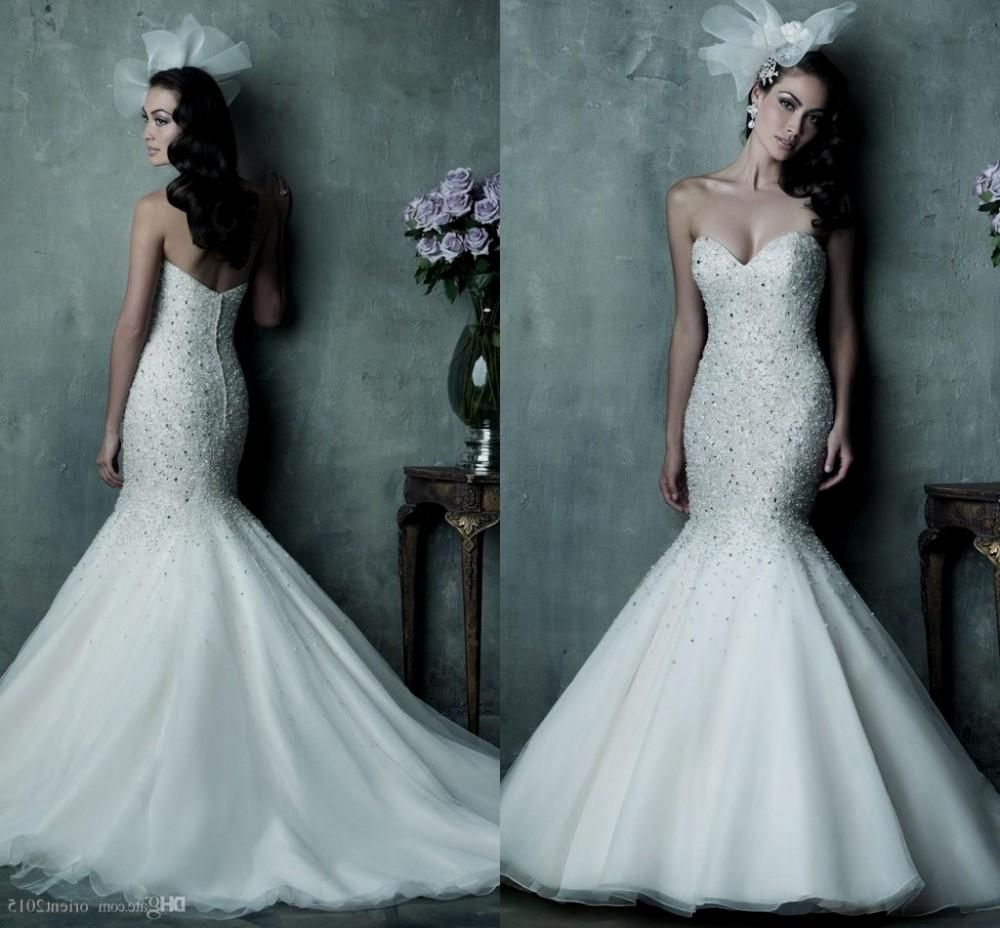 Stunning Sparkly Mermaid Wedding Dress Gallery - Styles & Ideas 2018 ...