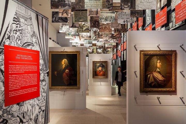 Exhibition Booth London : Georgians revealed exhibition by urban salon london uk