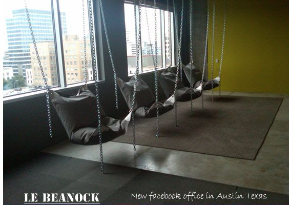 Marvelous Le Beanock Contemporary Furniture Twist On Beanbag And Hammock Ideas