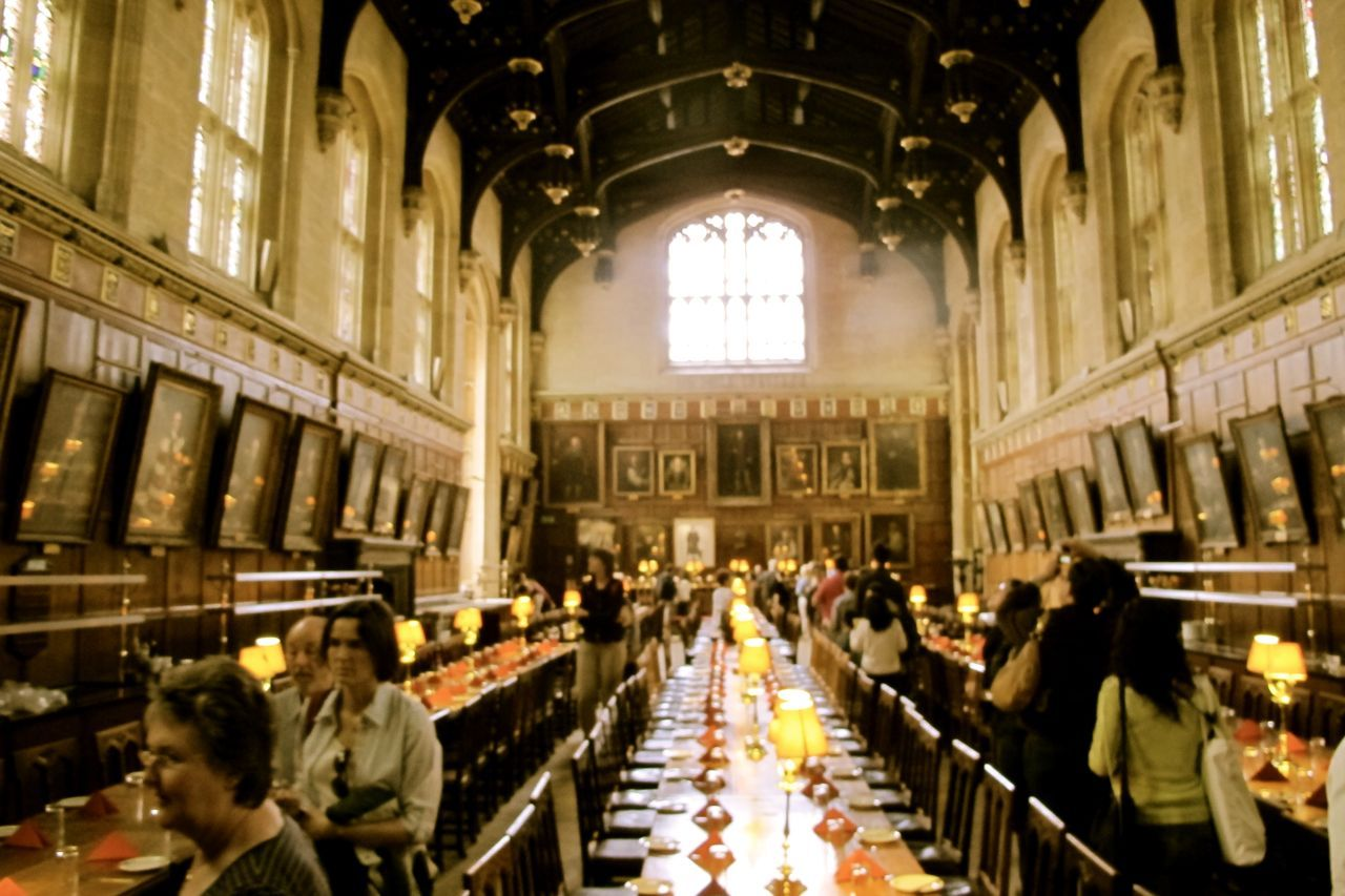 Oxford Christchurch Great Hall England Harry Potter Film Locations