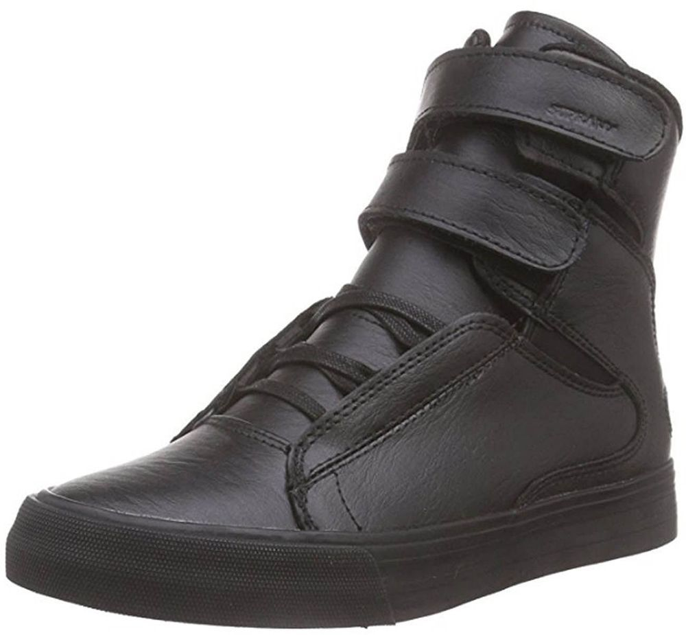 Ellington, Sneakers Basses Homme, Noir - Schwarz (Black - White 002), 42 EUSupra