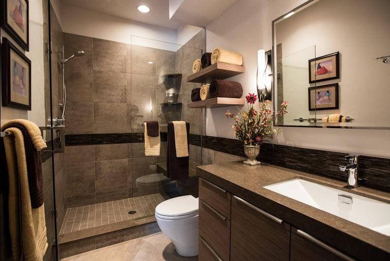 Tiles. Bathroom colors brown, Modern bathroom colours
