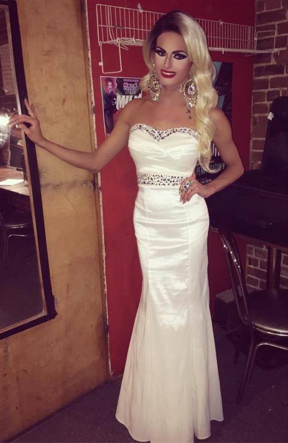 Transgender Evening Dress