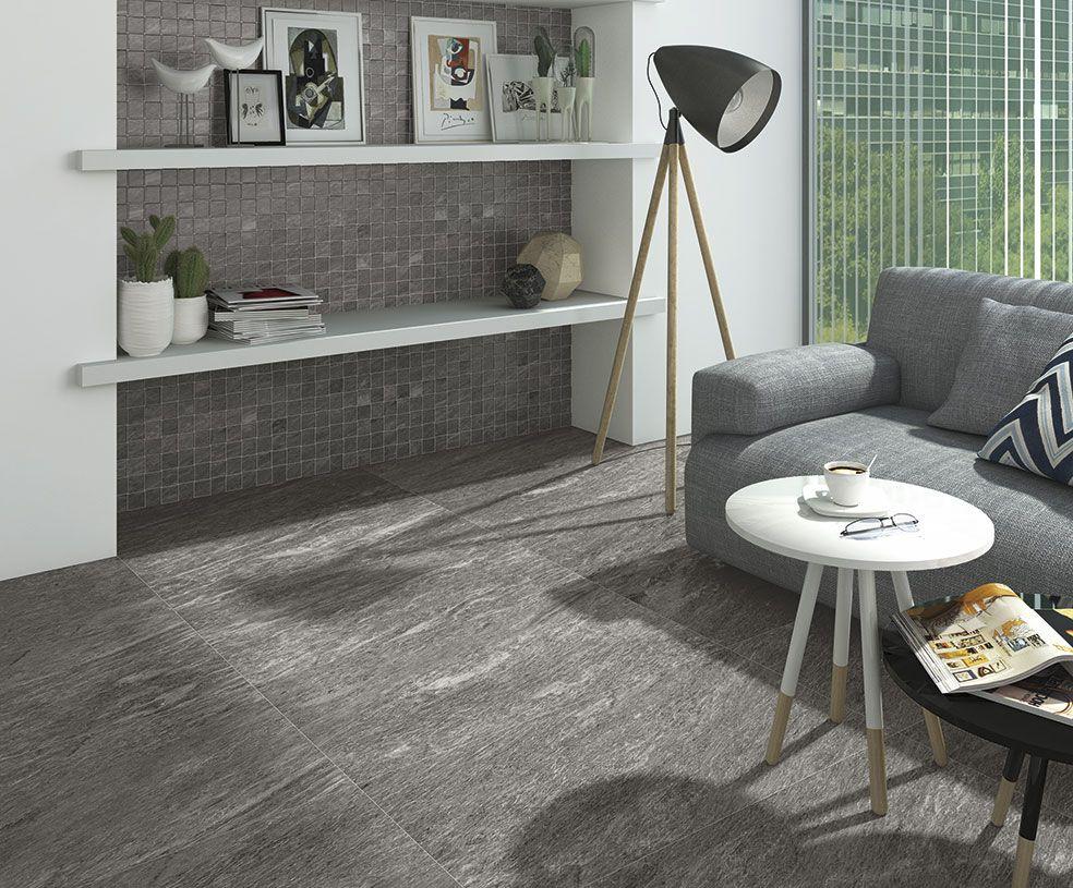Arcana Tilesbolano R Antracita 21 8×89 3 Cm Porcelain Tile  # Muebles Gismobel