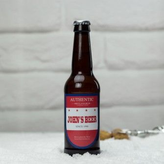 Personalised Authentic Beer