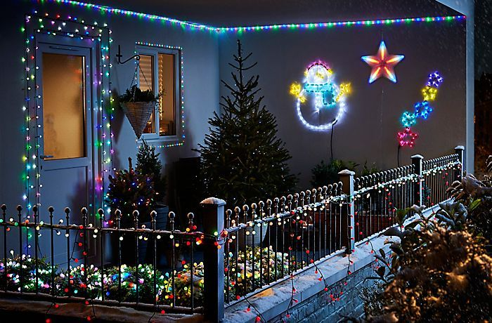 Plug Christmas Lights Into Solar Panel
