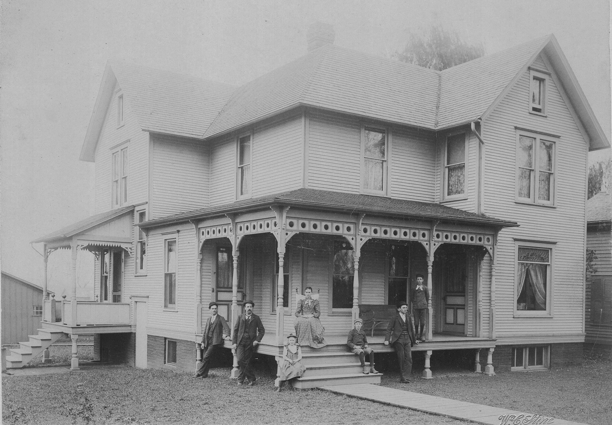 Historically Accurate Porch Queen Anne House Ca 1890 Queen Anne House House With Porch Victorian House Plans