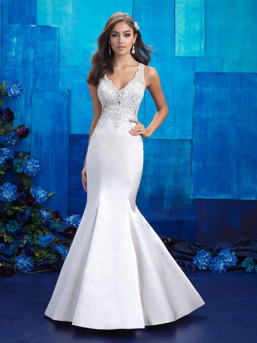 Allure, 9402, Sz. 10, Ivory/Nude. Available at Debra\'s Bridal ...