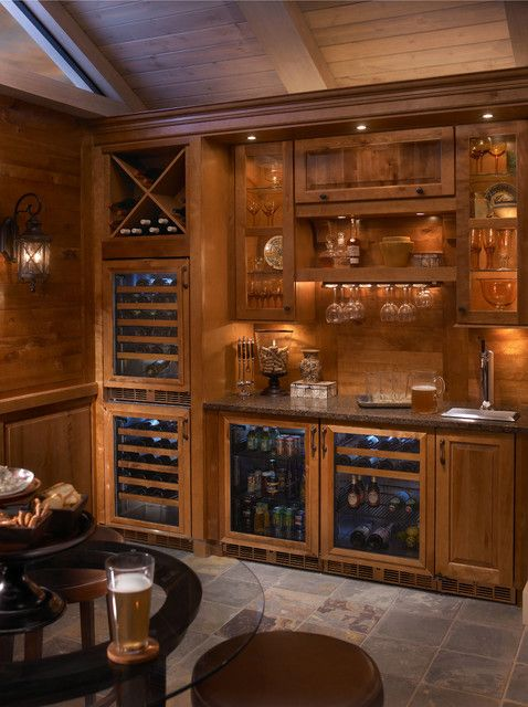 Undercounter Kegerator Home Theater Traditional With Beer Cooler Dispenser Storage Tap