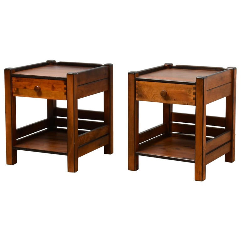 Best 2 Identical Bedside Tables 1970S From Former Yugoslavia 400 x 300