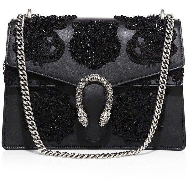 Gucci Dionysus Medium Embroidered Leather Shoulder Bag ( 4 a14c119308b