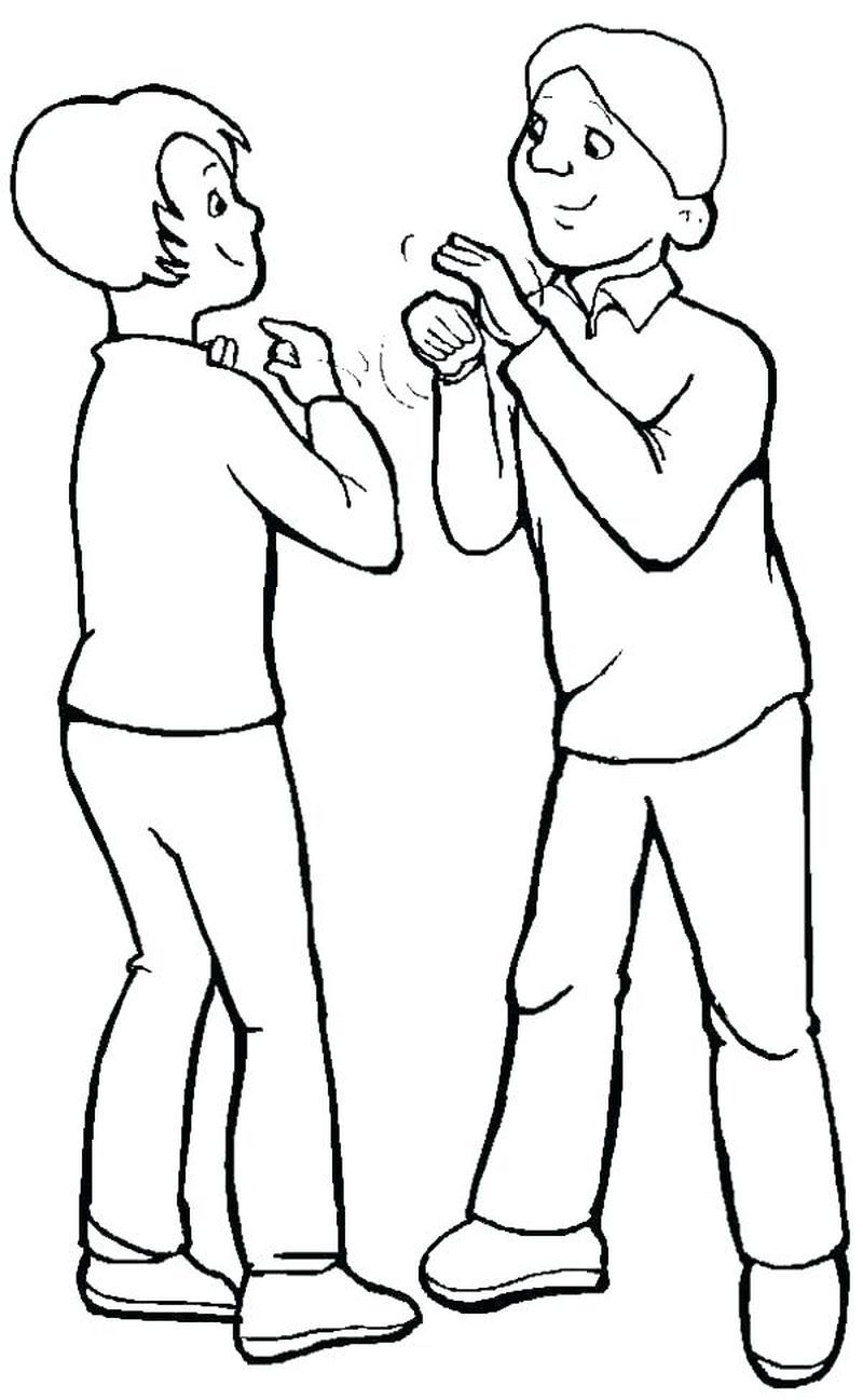 Coloring Pages Of People Dancing People Coloring Page To Download And Coloring Here Is A Fr In 2020 People Coloring Pages Coloring Pages For Boys Free Coloring Pages