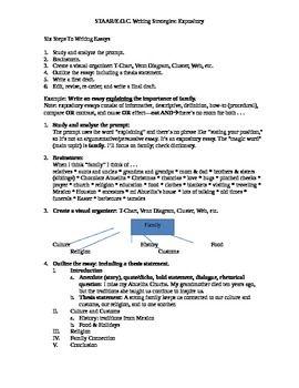 Staar Writing Expository Essay Strategies  Writing Strategies