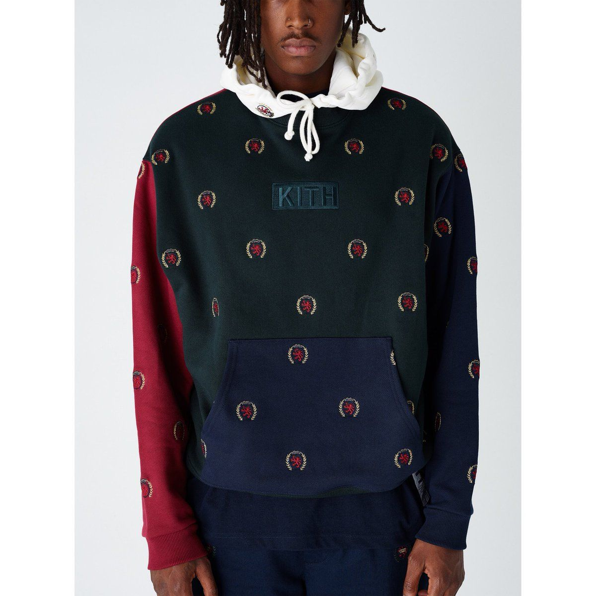 c6dd5f7404 Kith x Tommy Hilfiger Full Embroidered Crest Hoodie - Multi ...