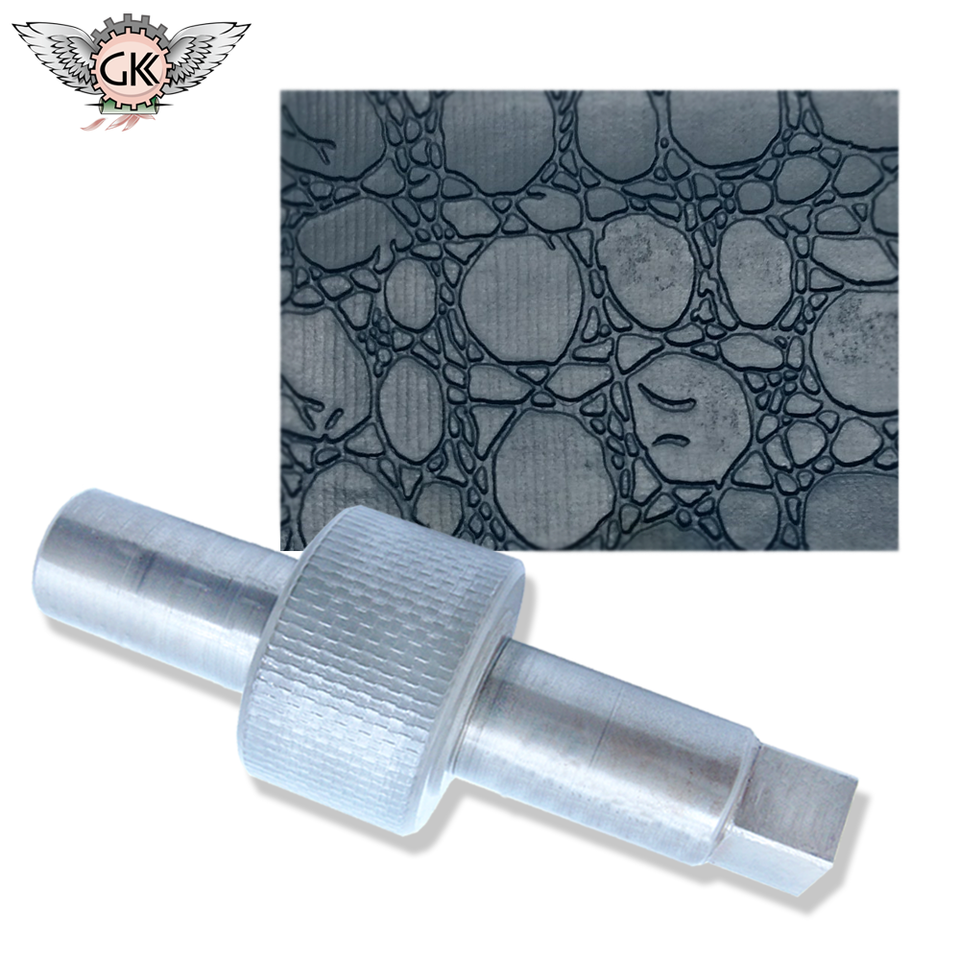 Chrome Plated Leather Embossing Roller For Cylinder