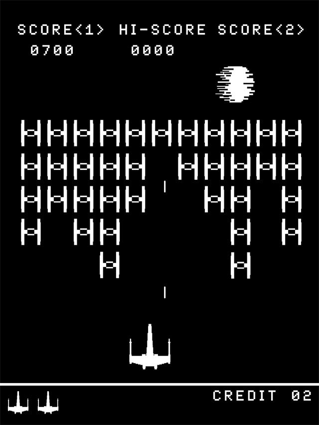 Star Wars//Space Invader T-Shirt
