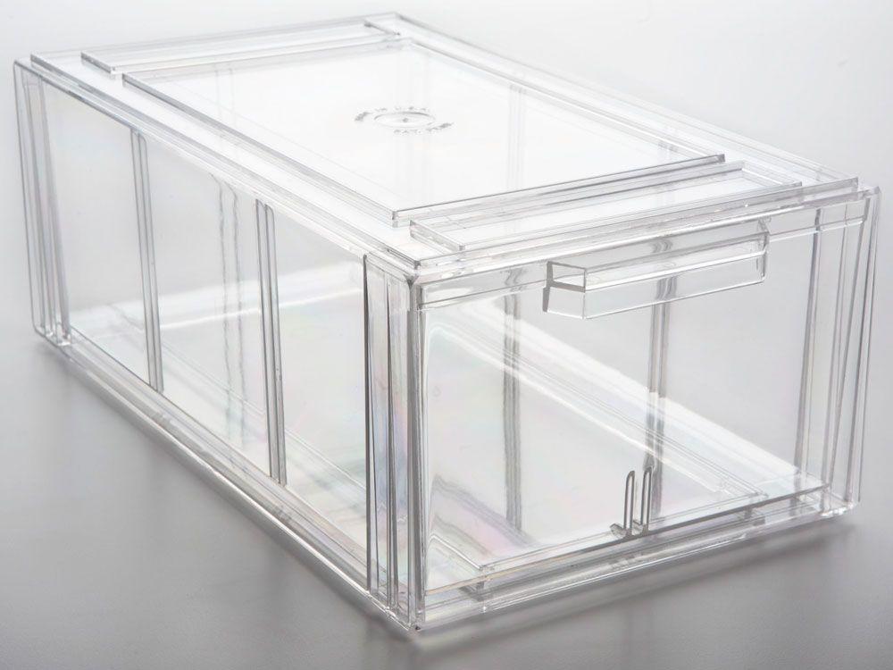 Large Shoe Drawer Drawers Stackable Storage Storage Bins With Lids Storage Bins