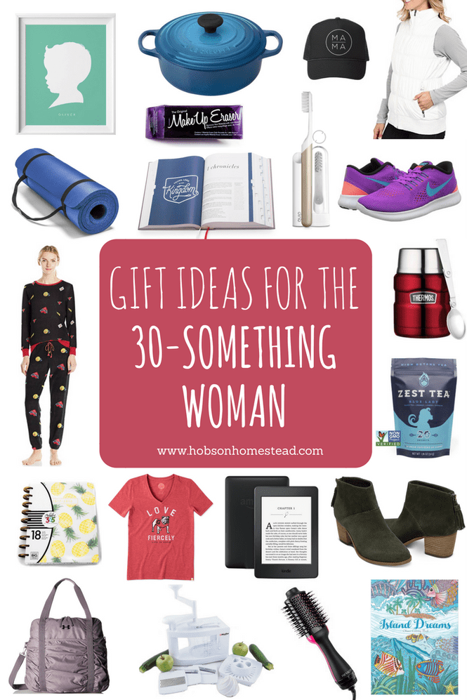 20 Gifts for the 30Something Woman Birthday present