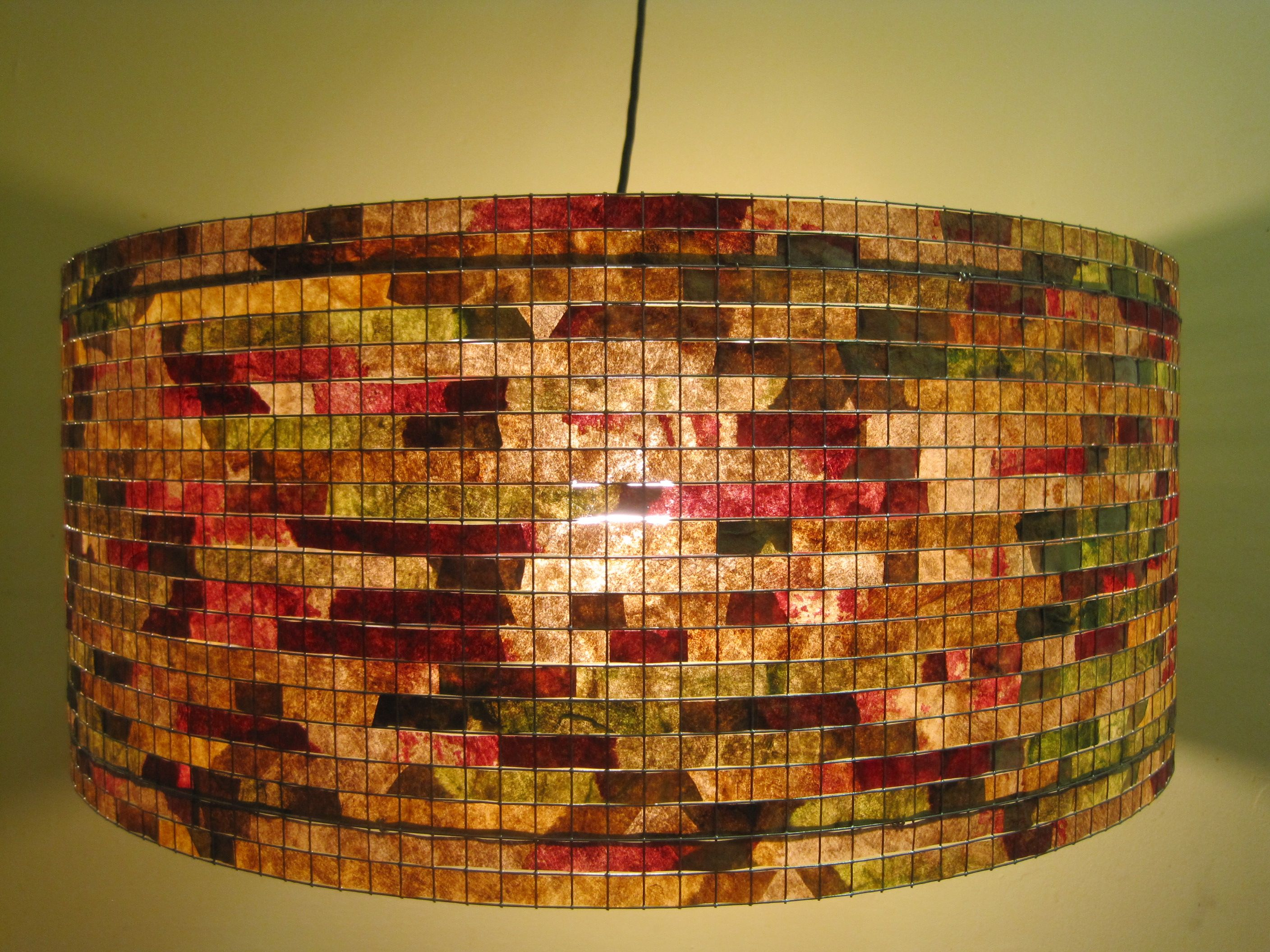 This Lampshade Is 100 Handcrafted By Me With Recycled Coffee