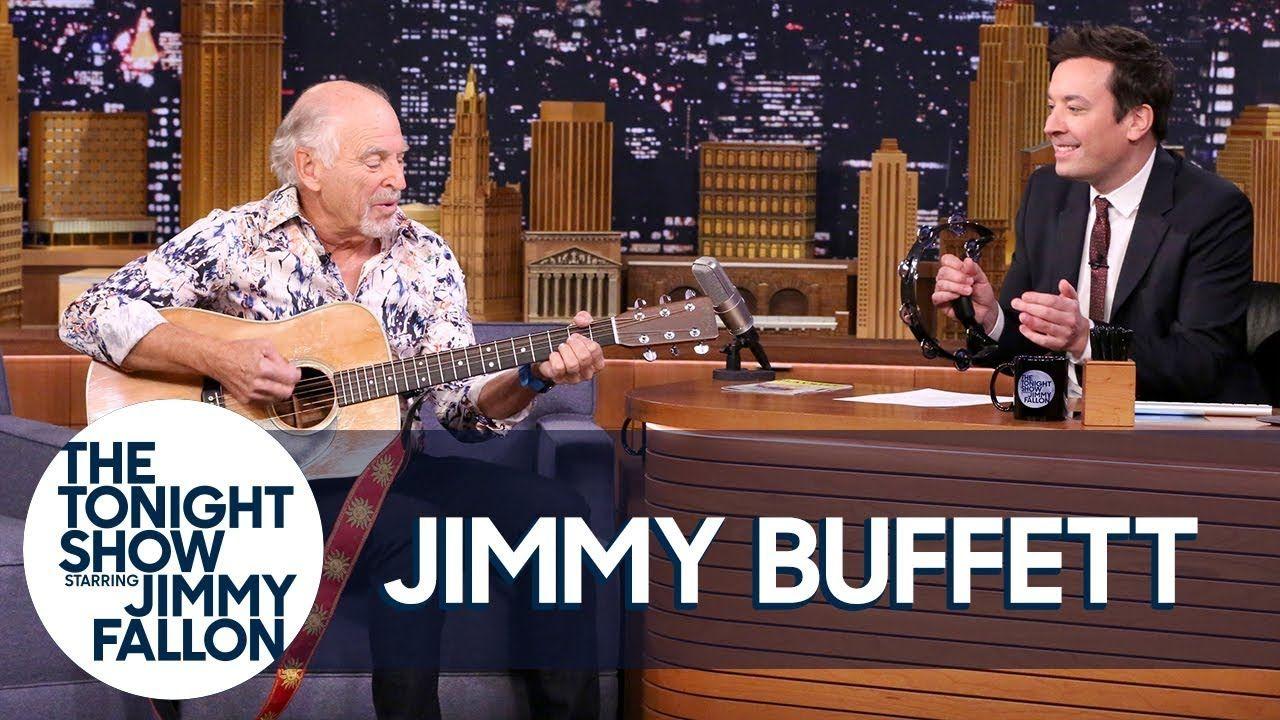 Jimmy Buffett Leads a \