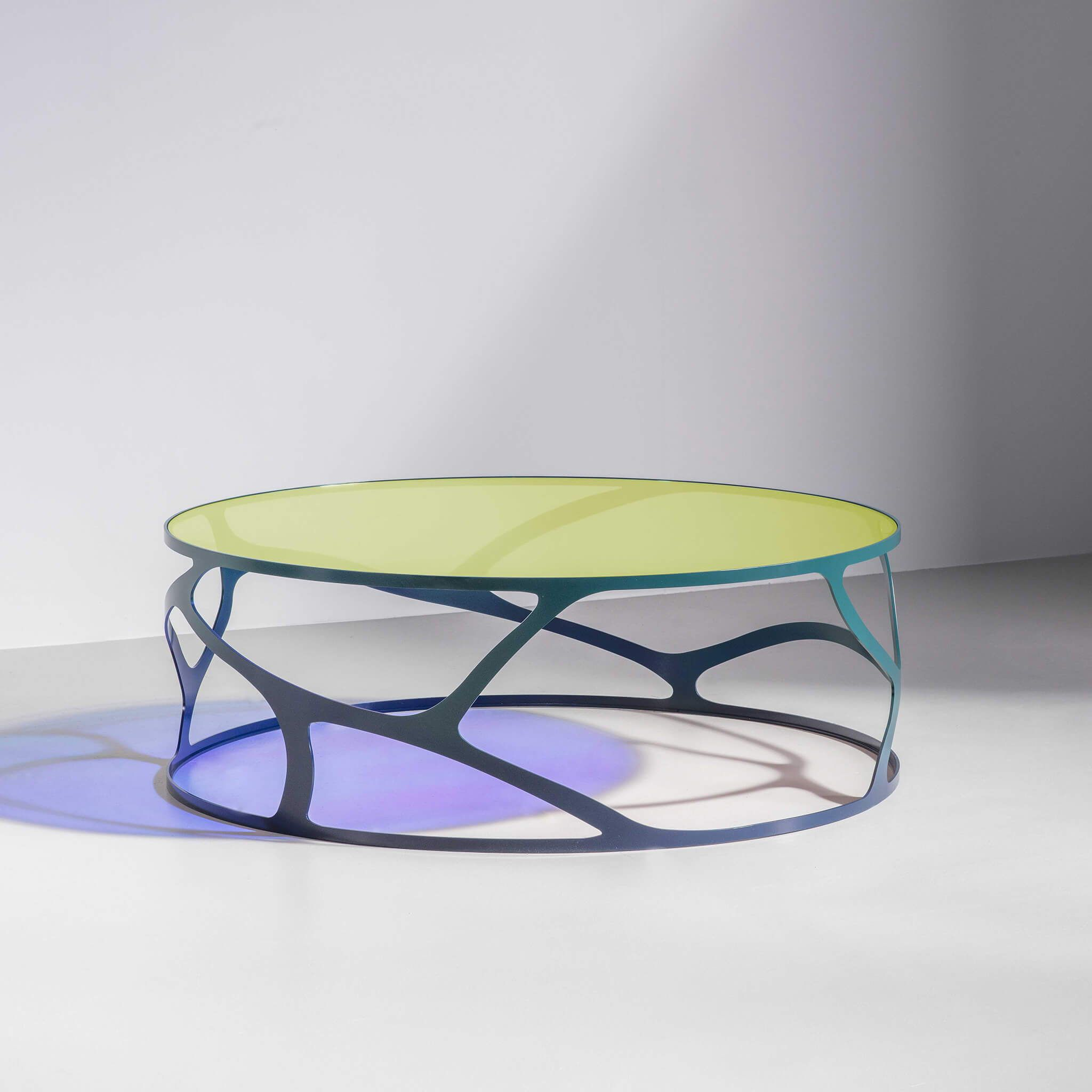 Papillon Colourful Round Coffee Table Modern Funriture By Tom Faulkner Coffee Table Round Coffee Table Modern Luxury Modern Furniture [ 2048 x 2048 Pixel ]