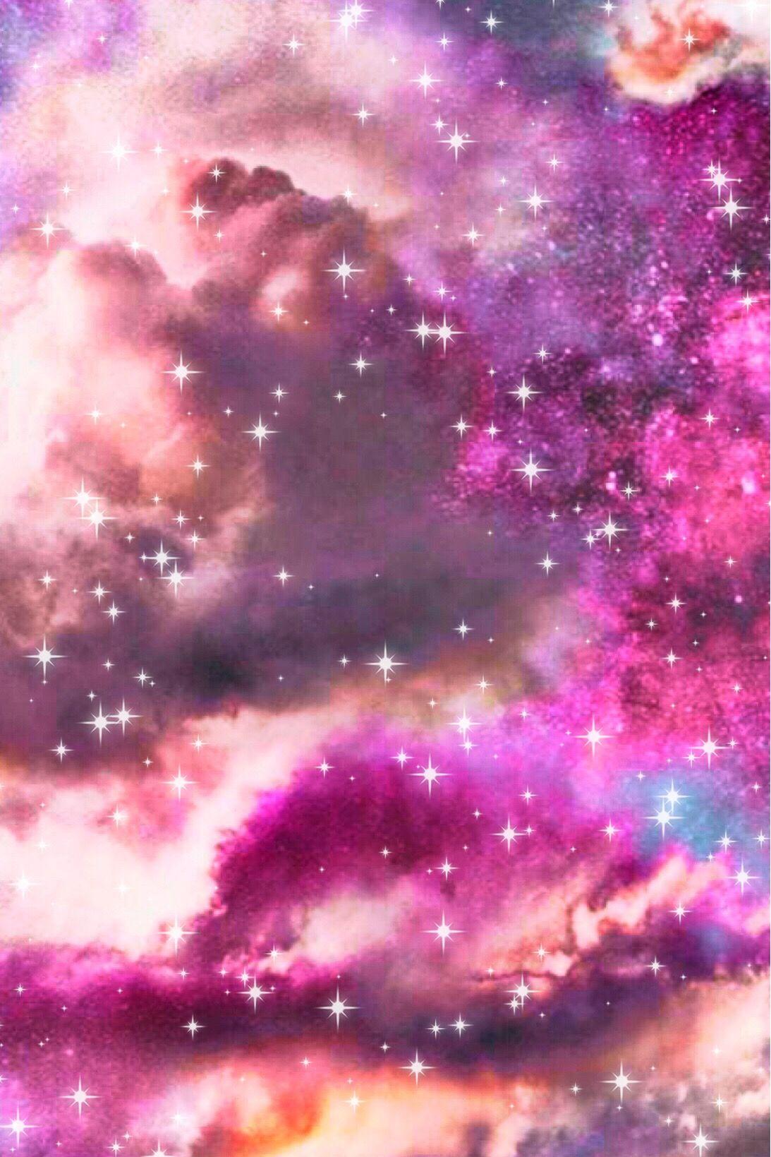 Sunset Sky Galaxy Wallpaper Androidwallpaper Iphonewallpaper Glitter Sparkle Galaxy Sky Stars Pink Cloud Star Wallpaper Galaxy Wallpaper Sky Aesthetic