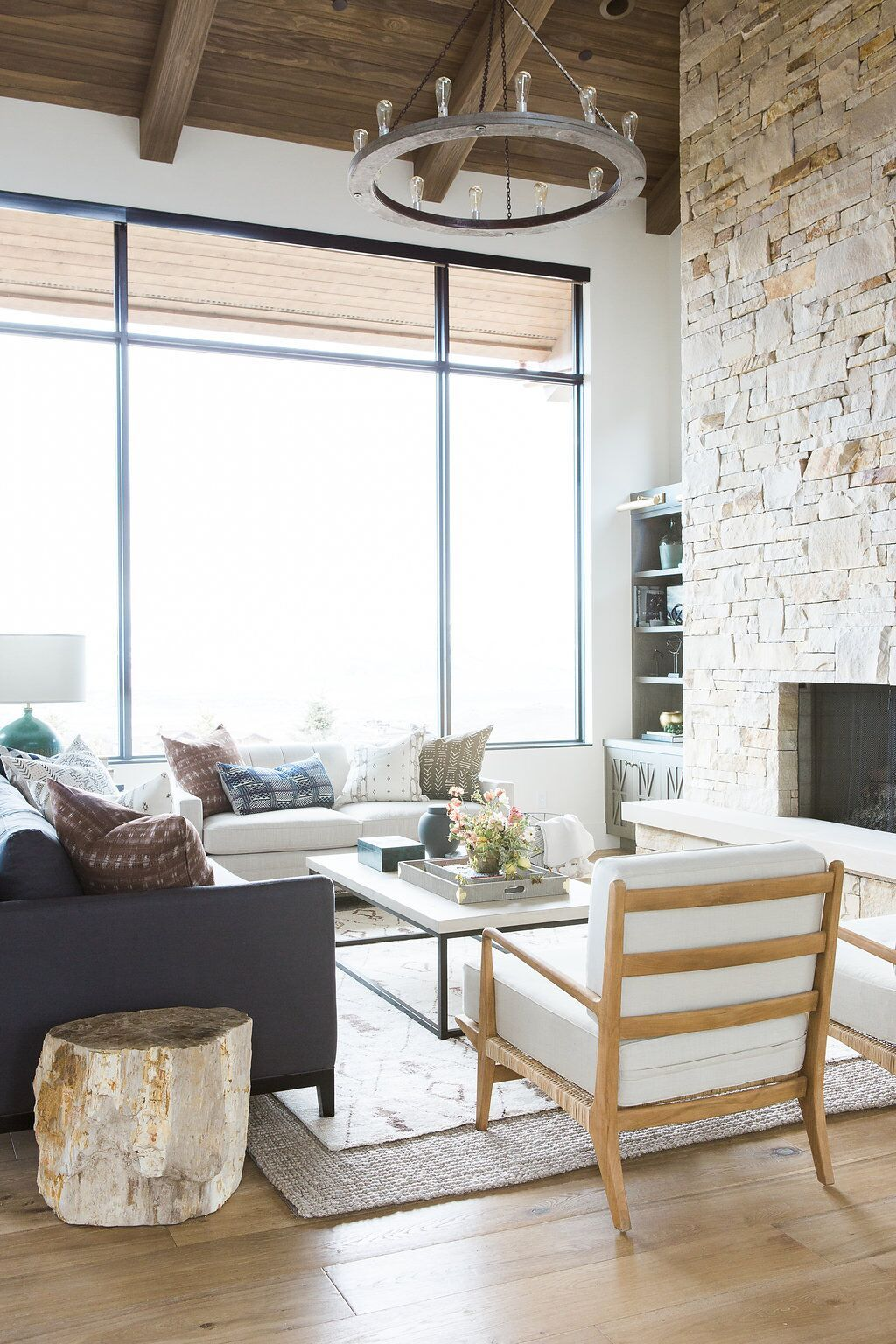 Promontory Project: Great Room, Kitchen | Neutral color scheme ...