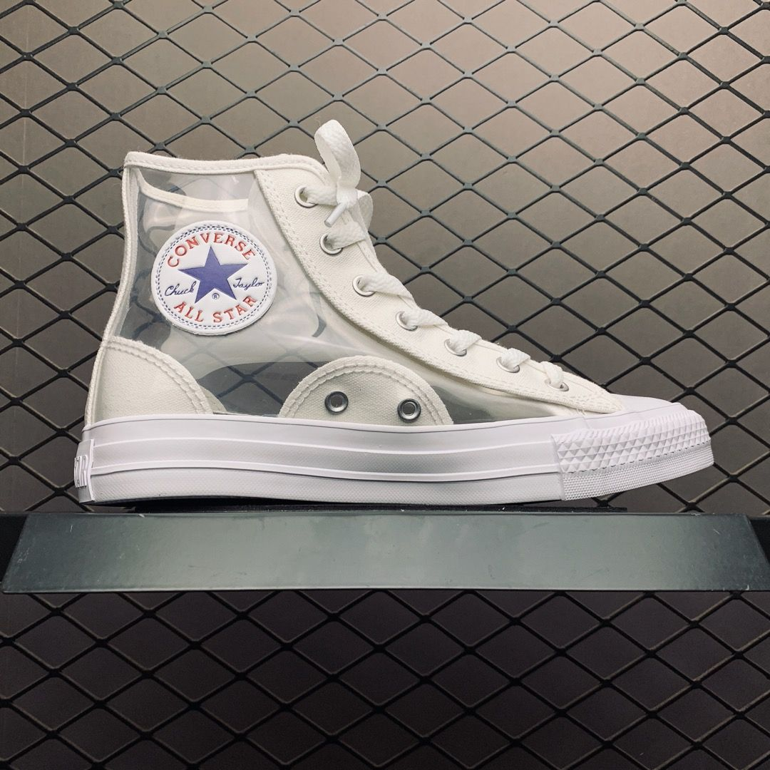 Womens Converse Chuck Taylor All Star Light Clear Material Hi For Sale Converse Hype Shoes Chuck Taylors