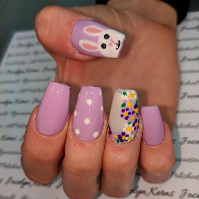 75 Amazing Designs Of Easter Nails For Your Inspiration Occasion