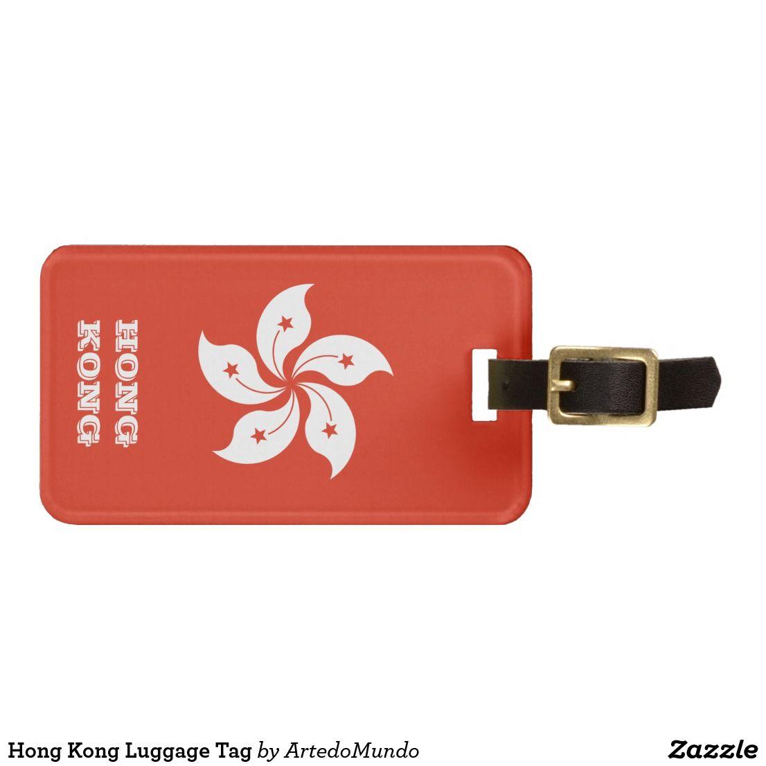 Hong Kong Luggage Tag | Zazzle com | Luggage Tags | Hong