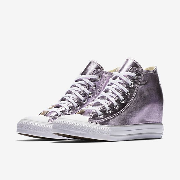 0341fdc2eac573 Converse Chuck Taylor All Star Lux Metallic Mid Top Women s Shoe ...