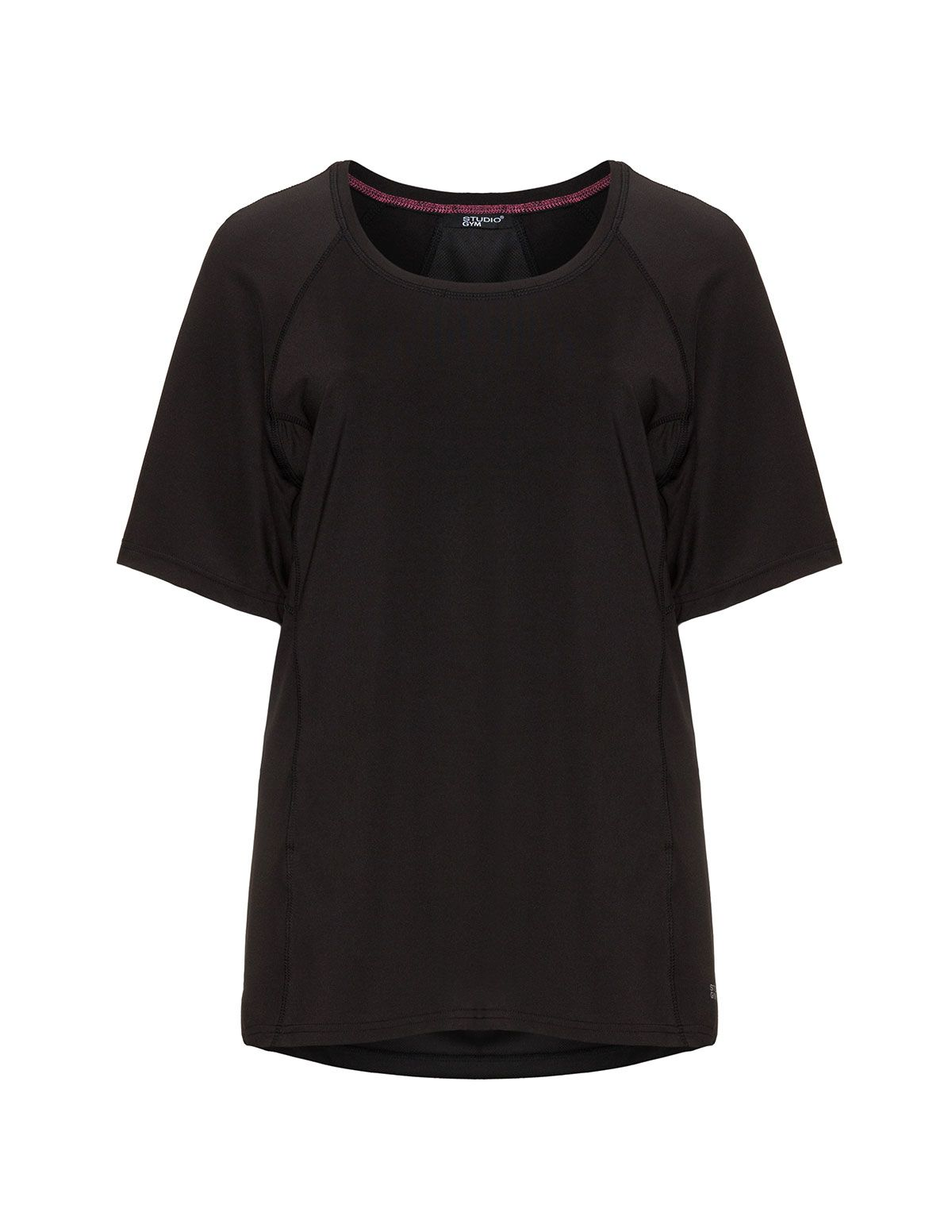 online store a1f9d 2a45e Studio Funktions-T-Shirt in Schwarz | 6 Dresses ...