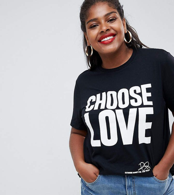 5cfcd41c1 Help Refugees Choose Love Curve t-shirt in black organic cotton#Teeplussizeteescasual  #plussize tees tanks #plussizeteesclothing #plussizeteescurves ...