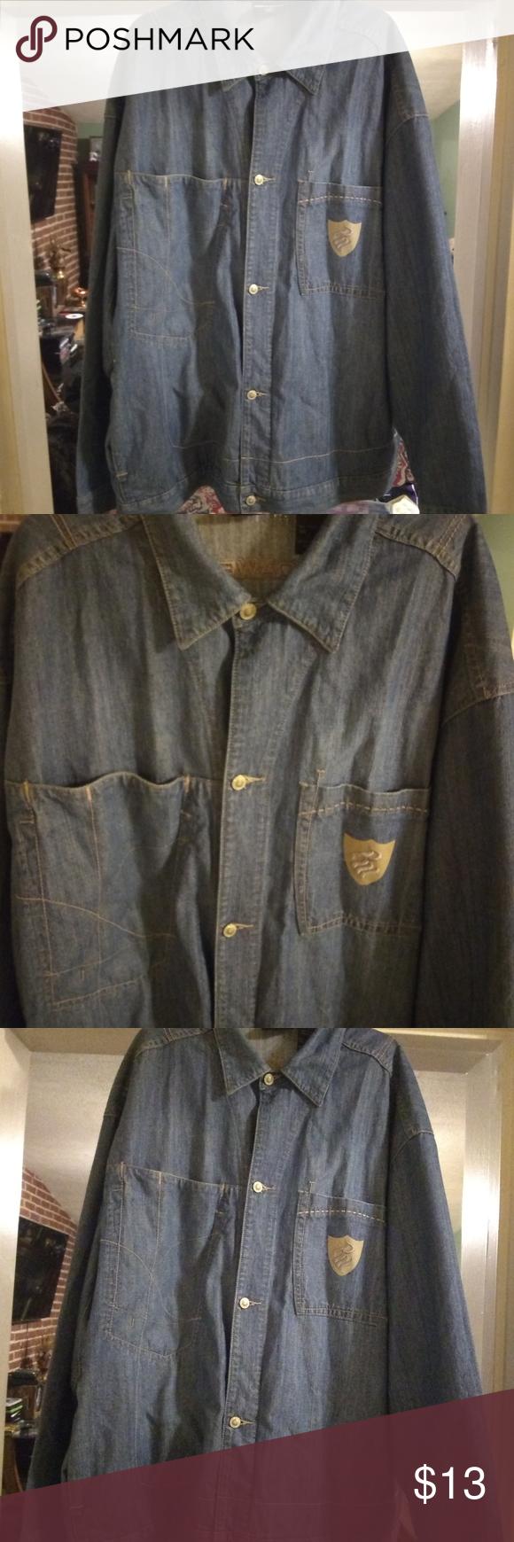 Roca Wear Jeans Jacket Worn Jean Jacket Jeans Wear Jackets [ 1740 x 580 Pixel ]