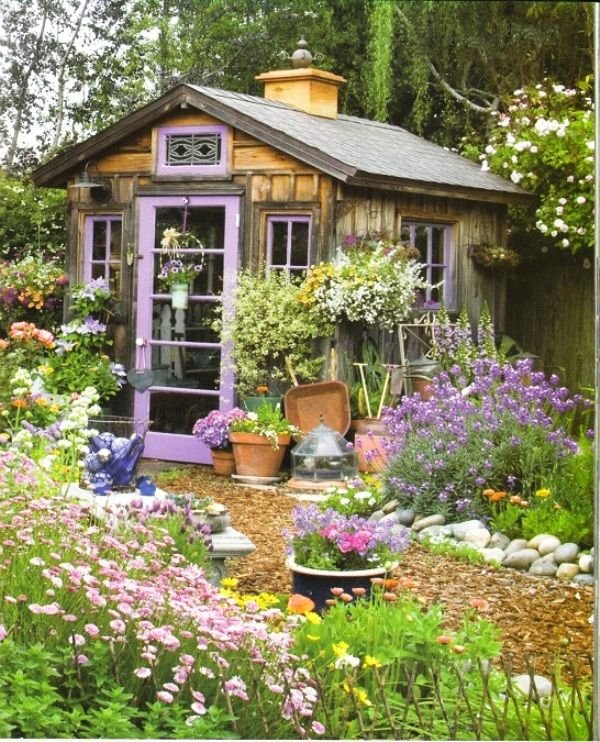 Get Inspired By These Amazing Sheds Design Ideas Ямка Pinterest - Potting Shed Designs