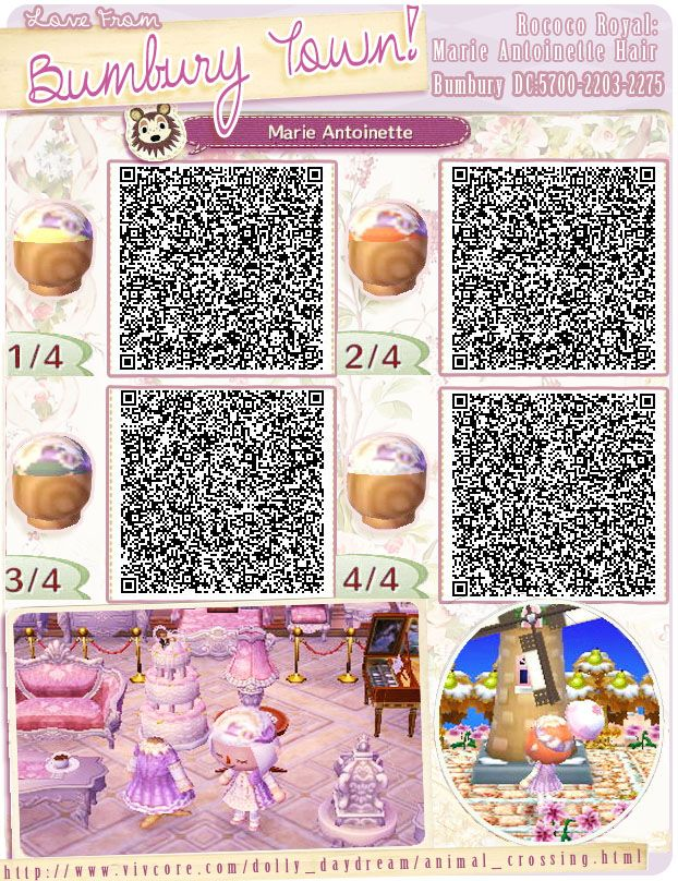 Animal Crossing Qr Codes Animal Crossing Qr Animal Crossing Hair Qr Codes Animal Crossing