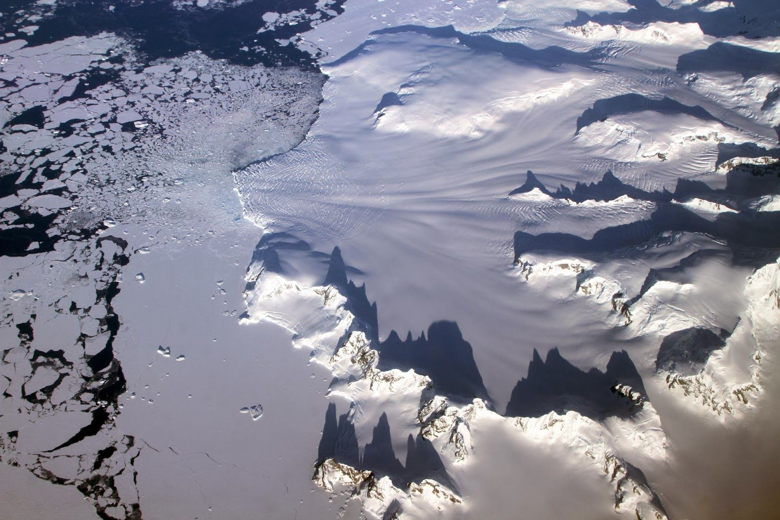 North and tropical Atlantic ocean bringing climate change to Antarctica