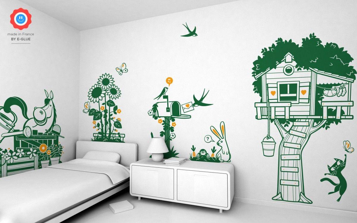Stickers Enfants Nature Decoration Chambre Enfant Stickers Enfant Et Decor Mural Enfants