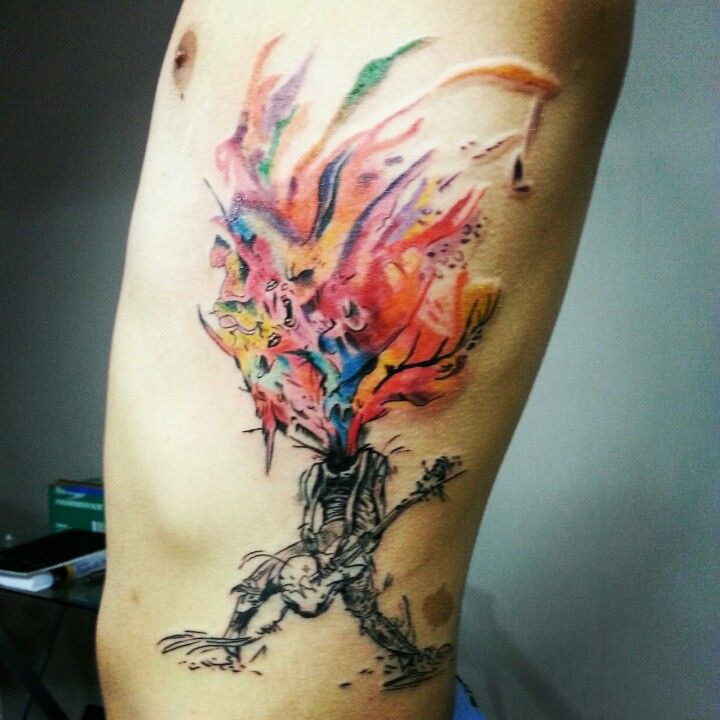 Alex pardee tattoo