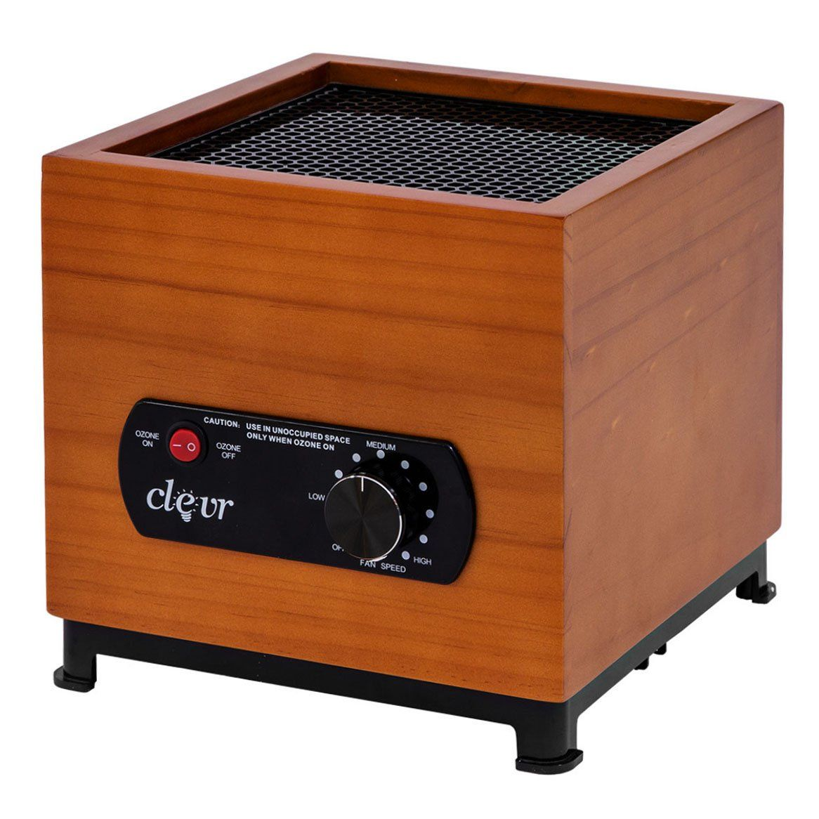 Clevr 8 Stage Ozone Generator Air Purifier Bamboo Casing